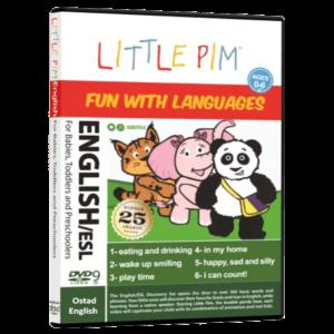 آموزش زبان انگلیسی کودکان LITTLE PIM ENGLISH