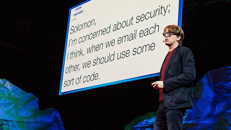 سخنرانی زبان انگلیسی James Veitch