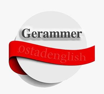آموزش دستور زبان و گرامر Gerammer