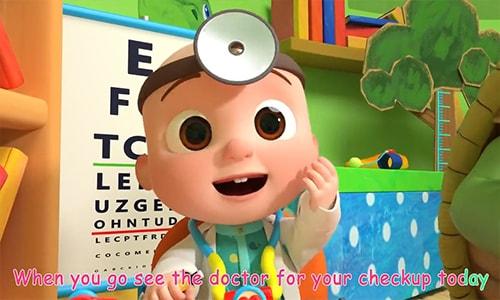 آموزش انیمیشن زبان انگلیسی کودکان کوکوملون cocomelon قسمت سوم Doctor Checkup Song