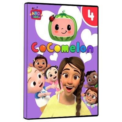 پکیج آموزشی زبان انیمیشن کوکوملون 4 کودکان