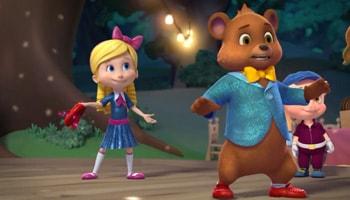 انیمیشن گلدی و خرسه آموزش زبان انگلیسی برای کودکانgoldie and bear