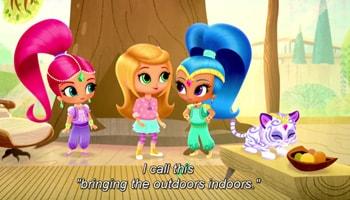 انیمیشن زبان انگلیسی پرنسس کوچولوهای زیبا برای کودکان بالای ۳ سال
