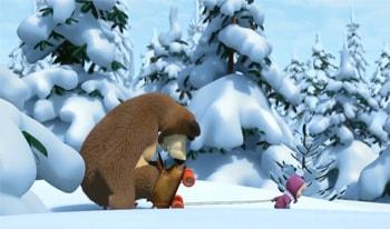 ماشا و خرسه انیمیشن زبان انگلیسی کودکان-ماشا و میشا انگلیسی