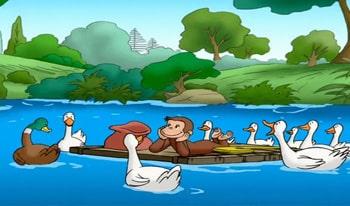 انیمیشن میمون بازیگوش به نام جرج کنجکاو آموزش زبان انگلیسی کودکان دانلود رایگان کارتون جورج کنجکاو زبان اصلی