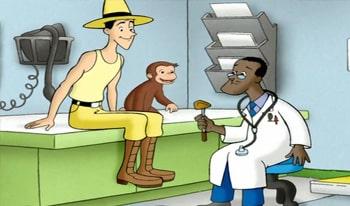 انیمیشن میمون بازیگوش به نام جرج کنجکاو آموزش زبان انگلیسی کودکان