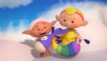 انیمیشن کوچولوهای ابری به زبان انگلیسی برای کودکان بالای 2 سال