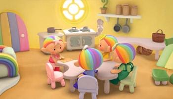 کارتون کوچولوهای ابری زبان انگلیسی برای کودکان بالای 2 سال محصول استاد انگلیسی