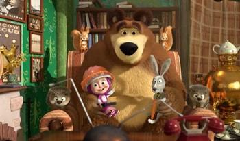 انیمیشن ماشا و خرسه قسمت دوم آموزش زبان انگلیسی کودکان-دانلود کارتون ماشا و میشا