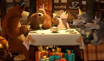 انیمیشن ماشا و خرسه قسمت چهارم آموزش زبان انگلیسی کودکان