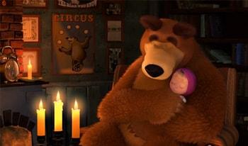 ماشا و خرسه انگلیسی قسمت سوم