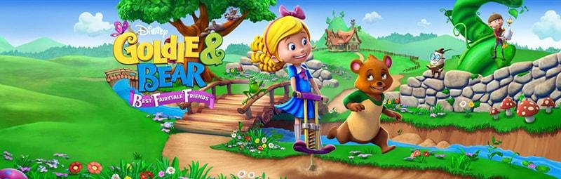 گلدی و خرسه آموزش زبان انگلیسی برای کودکانgoldie and bear