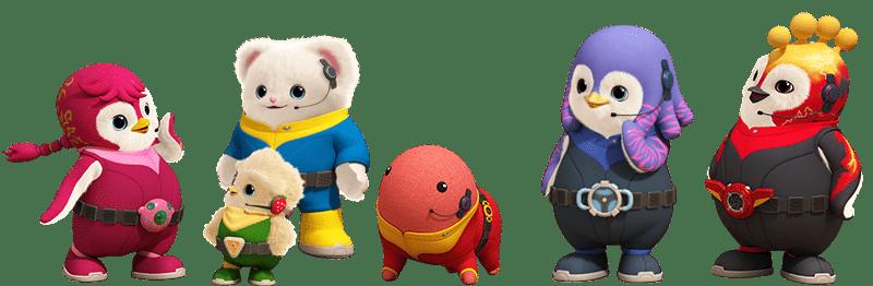 پکیج آموزشی و انیمیشن بادانامو برای کودکان تقویت زبان انگلیسی کودک