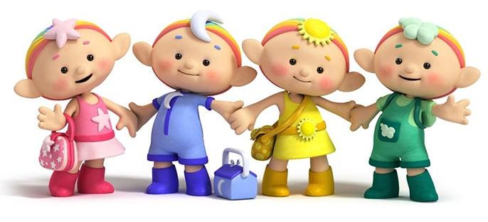 کارتون کوچولوهای ابری زبان انگلیسی کودکان