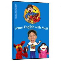انیمیشن آموزش حروف الفبای زبان انگلیسی با مت برای کودکان بالای ۱ سال