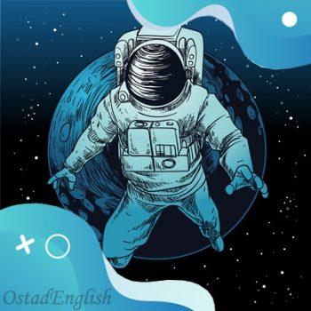 داستان انگلیسی پیرمرد روی ماه با ترجمه فارسی و تلفظ انگلیسی
