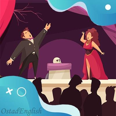 داستان انگلیسی خواننده اپرا با ترجمه