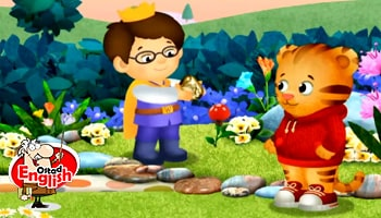 انیمیشن دنیل تایگر آموزش زبان انگلیسی کودکان