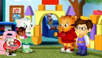 انیمیشن دنیل تایگر آموزش زبان انگلیسی کودکانانیمیشن دنیل تایگر آموزش زبان انگلیسی کودکان