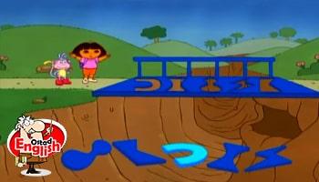 کارتون دورا جستجوگر زبان اصلی کودکان