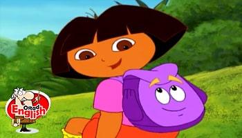کارتون دورا جستجوگر زبان اصلی کودکان-انیمیشن دورا