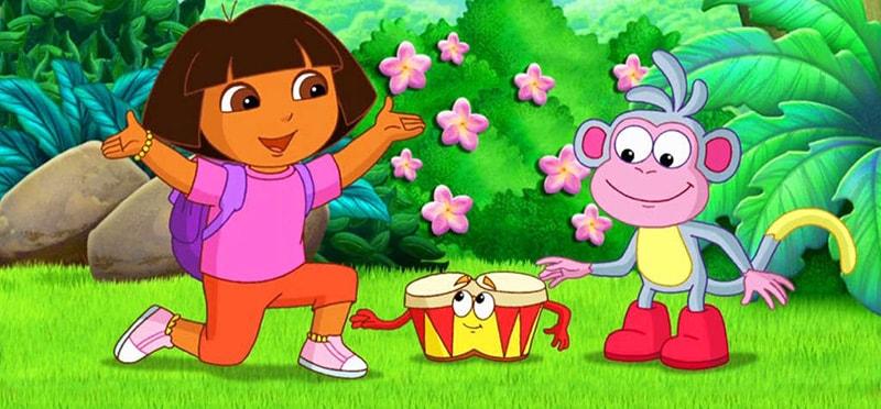 دانلود کارتون دورا قسمت دوم-آموزش زبان انگلیسی کودکان
