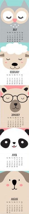 تقویم انگلیسی ، ماه های سال به زبان انگلیسی ، روزهای هفته به انگلیسی ، The Calendar