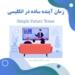 آموزش زمان آینده ساده در زبان انگلیسی | Simple Future Tense