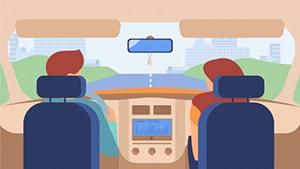 زمان حال کامل ماضی نقلی همراه با مثال فعل رانندگی کردن