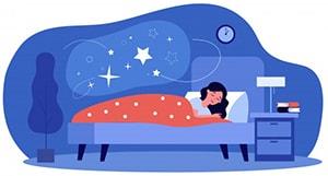 صرف فعل خوابیدن در چهار زمان : گذشته ساده ،حال استمراری و آینده ساده ، حال ساده