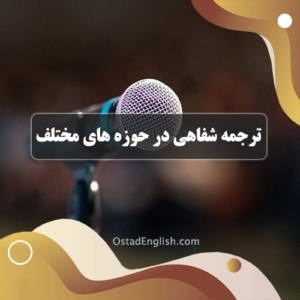 ترجمه ی شفاهی در حوزه های مختلف تعامل اجتماعی