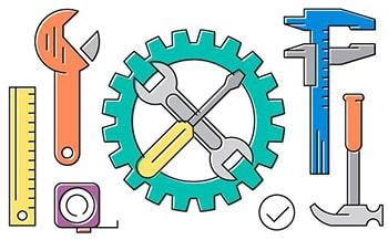 لغات صنعتی و تجاری انگلیسی ابزار ها tools