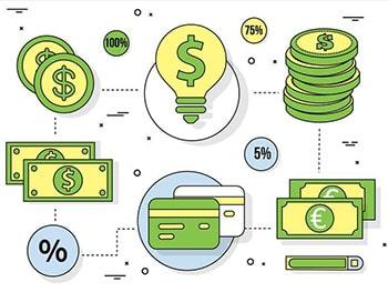 لغات صنعتی و تجاری زبان انگلیسی منابع مالی financial resources
