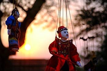 درس چهاردهم لغات فیلم های زبان انگلیسی Puppet show خیمه شب بازی