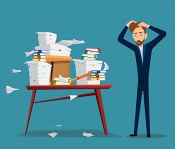لغات تجاری و صنعتی کاغذ بازی bureaucracy